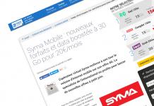Syma Mobile : nouveaux forfaits et data boostée à 30 Go pour 20€/mois