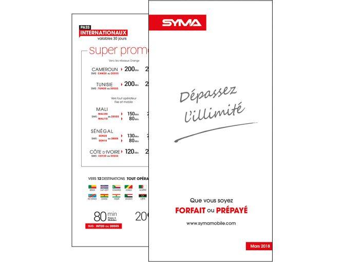 Leaflet Syma Mobile - Mars 2018