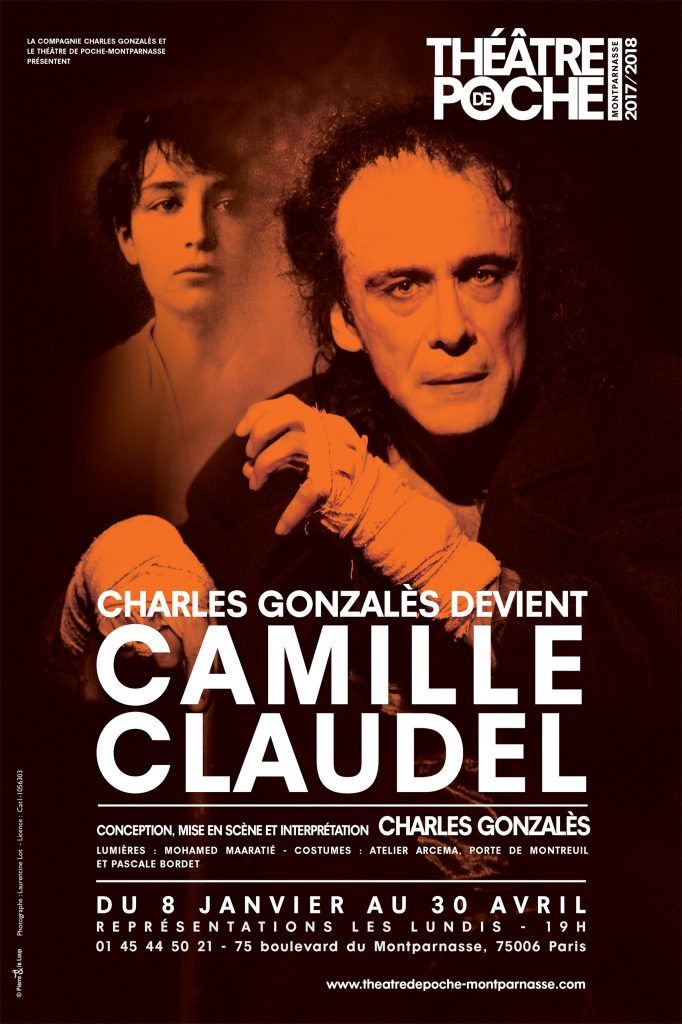 Charles Gonzalès-Camille Claudel-Théâtre de Poche-Paris-Folie-Theatre-Asile