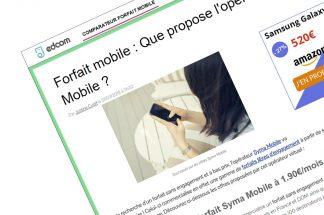 EDCOM-Présentation Syma Mobile