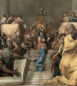 Tintoret - Institut Hongrois - Musée du Luxembourg - Art - Exposition - Conférence - SYMA News - SYMA Mobile - Florence Yérémian - Jésus - Christ - Peinture -17 mai