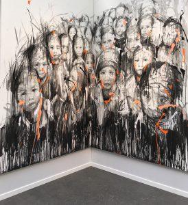 Art Paris - Arts - Grand Palais - Expo- expositions - culture - peinture - Hom Nguyen - Syma News - Florence Yérémian
