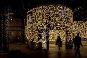 L'Atelier des lumières - Paris - Art - Gustav Klimt - Schiele - Vienne - Hundertwasser - exposition