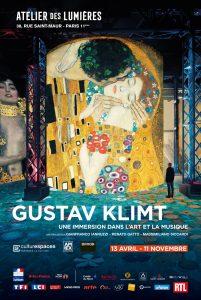 Atelier des lumières - Paris - Art - Klimt - Schiele - Vienne - Hundertwasser - art numérique - - exposition