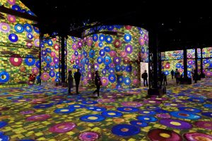 L'Atelier des lumières - Paris - Art - Klimt - Schiele - Vienne - Hundertwasser - exposition
