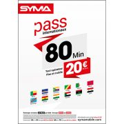 Affiche Pass international Syma Mobile – Juin 2018