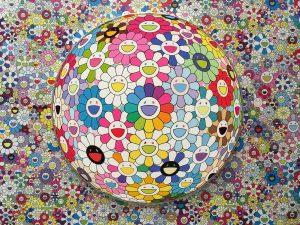 Murakami - Syma News - Boulogne - Paris - Expo - Museum - Exhibition - jeune public - enfant- kawaï - Manga - ludique - fun - LVMH - Fondation Louis Vuitton - Syma Mobile - Art - Kunst - Florence Yérémian