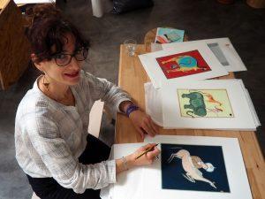 Isabelle Manoukian - Art - Artiste - Peintre - Arménienne - Graphiste - Miniatures - Syma Mobile - Syma News - Florence Yérémian