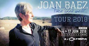 Joan Baez - Seventies - Musique - Concert - Paris - Olympia - Folk - Country - Bob Dylan - Syma News - Syma Mobile - Florence Yérémian