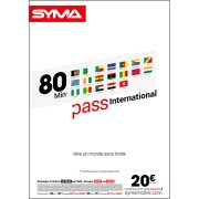 Affiche Pass international Syma Mobile – Août 2018