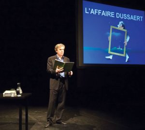 Laffaire Dussaert - Festival Avignon 2018 - SYMA Mobile - SYMA News - Florence Yeremian - Jacques Mougenot - Art - Art Contemporain - Supercherie - Theatre - Spectacle - Off18