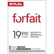 Affiche Forfait 19.90€ Syma Mobile – Septembre 2018