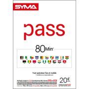 Affiche Pass international Syma Mobile – Septembre 2018
