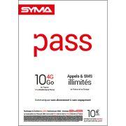 Affiche Pass illimité Syma Mobile – Septembre 2018