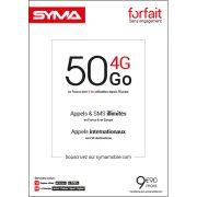 Affiche Forfait 9.90€ Syma Mobile – Octobre 2018