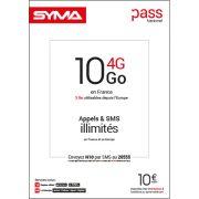 Affiche Pass illimité Syma Mobile – Octrobre 2018