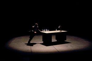Paradoxal - Theatre - Thriller - Marien Tillet - Syma News - Syma Mobile - Florence Yeremian - Theatre de Belleville - Sommeil - Reve - Doute