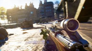 Paris Games Week salon jeu video gamer EA Battlefiled BF5 FPS