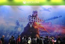 Paris Games Week salon jeu video gamer EA Battlefiled BF5 FPS PS4 Xbox One
