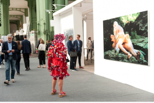 FIAC 2018 - Art Contemporain - Paris - Artistes - Paintings - photo - Koons - Provocation - Cicciolina - Sexe -Art provoc - grand Palais
