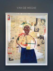 FIAC 2018 - Art Contemporain - Paris - Artistes - Paintings - Sculpture - Moderne - grand Palais - SYMA News - SYMA Mobile - Florence Yeremian - Basquiat - Joy - Van de Weghe Fine Art - Collage - huile - Acrylique