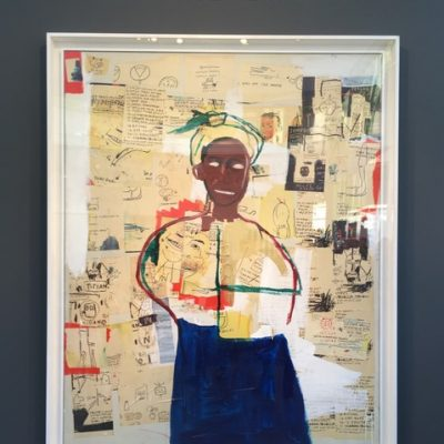 FIAC 2018 - Art Contemporain - Paris - Artistes - Paintings - Sculpture - Moderne - grand Palais - SYMA News - SYMA Mobile - Florence Yeremian - Basquiat - Joy - Van de Weghe Fine Art - Collage - huile - Acrylique