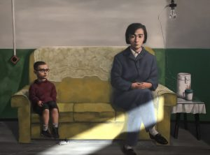 FIAC 2018 - Grand Palais -Galerie PACE - Chine - China - Zhang Xiaogang - Mère - Mother - Silence- Asie - Asia - Art Contemporain - Paris - Artistes - Paintings - Sculpture - Moderner - SYMA News - SYMA Mobile - Florence Yeremian