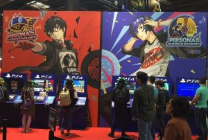 Paris Games Week salon PS4 PSVita Vita gamer persona koch media atlus