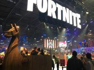 Paris Games Week salon jeu video gamer Fortnite