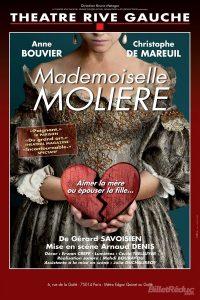 Mademoiselle Molière - Theatre Rive Gauche - SYMA News - Florence Yeremian - Arnaud Denis - Pièce - Paris - Spectacle - Amour - Trahison - Jalousie