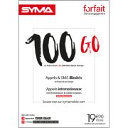 Affiche Forfait 19.90€ Syma Mobile – Novembre 2018
