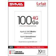 Affiche Forfait 19.90€ Syma Mobile – Octobre 2018