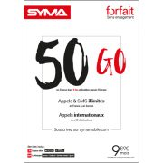 Affiche Forfait 9.90€ Syma Mobile – Novembre 2018