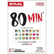Affiche Pass international Syma Mobile – Novembre 2018