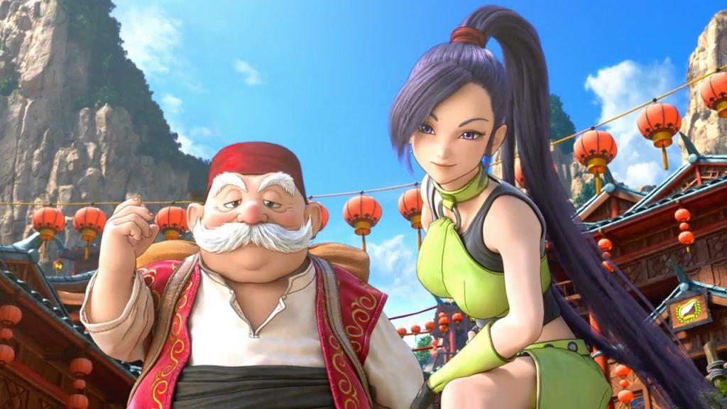 JRPG Dragon Quest XI Martina Square Enix RPG PS4 PC