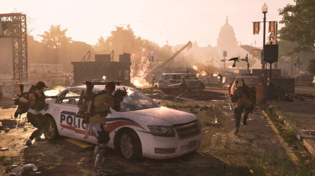 Paris Games Week salon gamer PS4 Xbox One Ubisoft The Division RPG TPS PS4 Xbox One