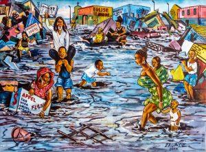 Kounde - RDC - L'inondation - Syma News - Brazza Art Galerie - Syma Mobile - Florence Yeremian