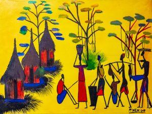 M'Hengo - Afrique - Congo Brazzaville - Brazza Art Galerie - Syma News - Florence Yeremian - Syma Mobile