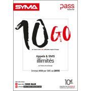 Affiche Pass illimité Syma Mobile – Novembre 2018