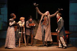 Un chant de Noel - comédie musicale - samuel Sene _ Charles Dickens - Noel - Eric Chanteleuze - Michel Frantz - enfants - musique - danse - Paris - artistic Theatre - Syma News - Syma Mobile - Florence Yeremian