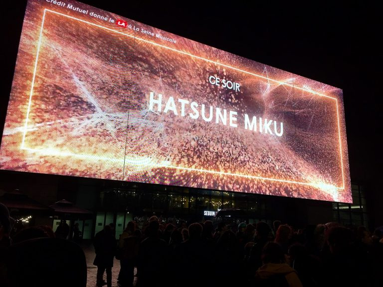Hatsune Miku Expo 2018 seine musicale concert Luka vocaloid project diva