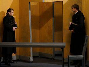 Le Double - Dostoievski - Ronan Riviere - Theatre - The?a?tre 14 - Russie - Goliadkine - Folie - Syma Mobile - Syma News - Florence Ye?re?mian