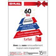 Affiche Forfait 15,90€ Syma Mobile – Décembre 2018