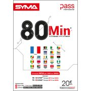 Affiche Pass international Syma Mobile – Janvier 2019