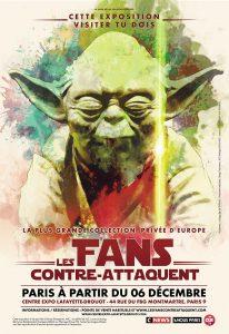Star Wars - Les Fans contre attaquent - Jedi - Guerre des etoiles - Florence Yeremian - SYMA News - Syma Mobile - Yoda - Drouot Lafayette