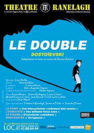 le double - theatre Le Ranelagh - syma news - florence yeremian - Ronan Riviere - Theatre - dostoievski - russe - russie - litterature - Comedie - drame