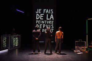 Samo - Basquiat - Théâtre de la Tempête - SYMA News - Florence Yeremian - Cartoucherie - Laetitia Guedon - Koffi Kwahulé -Nicolas Baudino - Eriq Ebouaney - Willy Pierre-Joseph - Yohann Pisiou - Blade Mc/AliMBaye - Benoit Lahoz