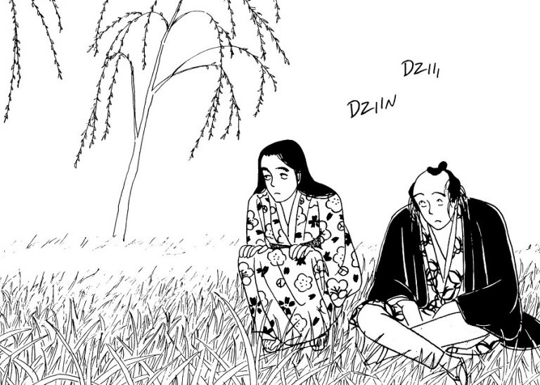 Miss Hokusai Edo manga editions picquier histoire humour Japon peinture