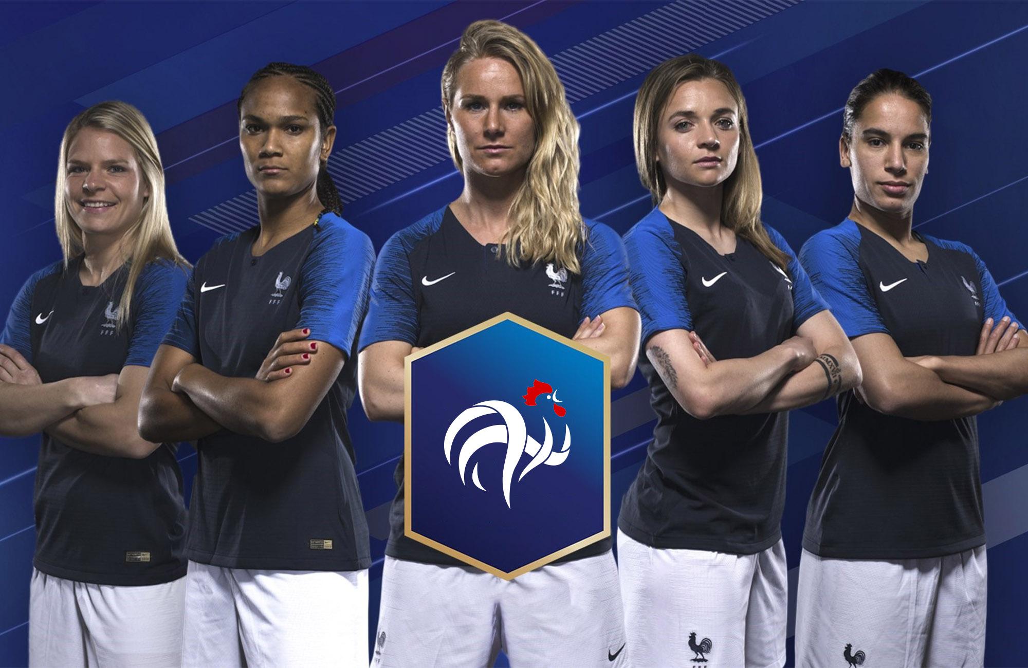La france se pr pare pour la coupe du monde f minine 2019 - Coupe du monde de football feminin ...