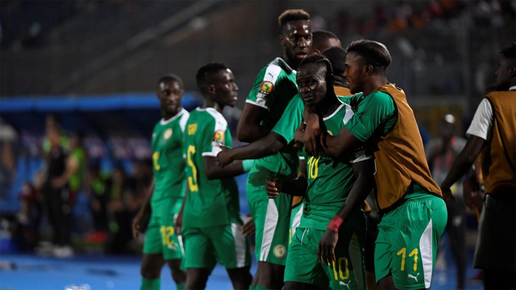 FOOTBALL FOOT CAN COUPE D'AFRIQUE SENEGAL